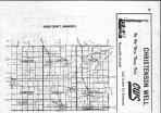 Dodge County Index Map - above, Dodge and Steele Counties 1983